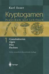 Kryptogamen 1: Cyanobakterien Algen Pilze Flechten Praktikum und Lehrbuch, Ausgabe 3