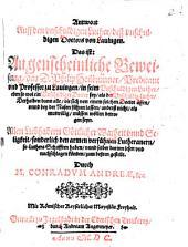 Antwort Auff den vnschuldigen Luther, deß vnschuldigen Doctors von Lauingen, Das ist: Augenscheinliche Beweisung, das D. Philip Heilbrunner, Predicant vnd Professor zu Lauingen, in seim Vnschuldigen Luther, eben so wol ein Vnschuldiger Doctor sey, als der Vnschuldig Luther: Derhalben dann alle, die sich von einem solchen Doctor äffen ... lassen, anderst nicht als mutwillig, müssen wöllen betrogen seyn ...