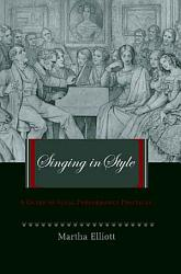 Singing In Style Book PDF