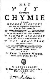 Het Pil der waare Chymie