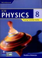 Young Scientist Series ICSE Physics Work Book 8 PDF