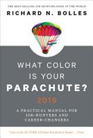 What Color Is Your Parachute  2019 PDF