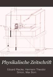 Physikalische Zeitschrift: Band 6