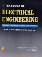 A Textbook of Electrical Engineering PDF