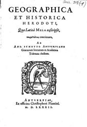 Geographica et historia Herodoti