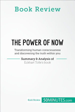 Book Review  The Power of Now by Eckhart Tolle PDF