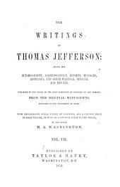 The Writings of Thomas Jefferson: Correspondence, cont