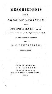 Geschiedenis der kerk van Christus: Volume 7