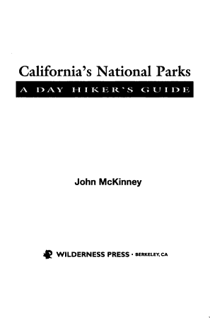 California s National Parks PDF