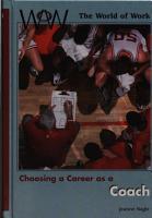 Choosing a Career as a Coach PDF
