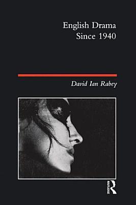 English Drama Since 1940 PDF