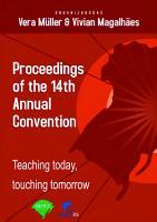 Proceedings  teaching today  touching tomorrow PDF