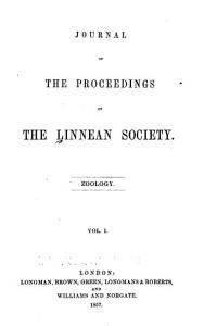 Journal of the Proceedings of the Linnean Society PDF