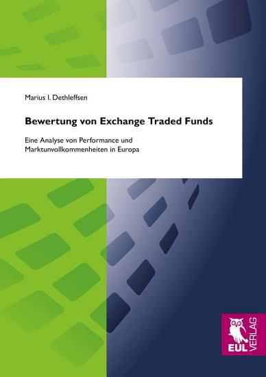 Bewertung von exchange traded funds PDF