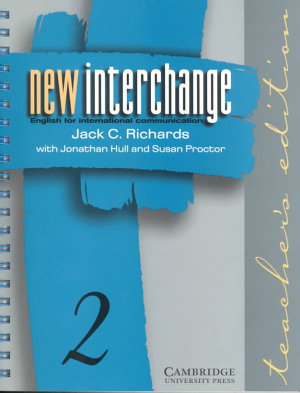 New Interchange Teacher s Edition 2 PDF