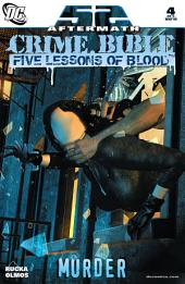Crime Bible: The Five Lessons (2007-) #4