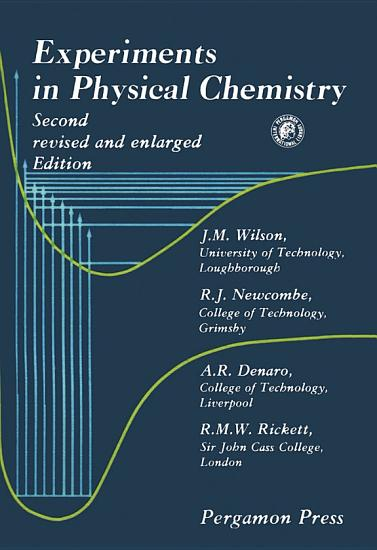 Experiments in Physical Chemistry PDF