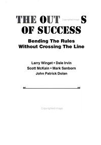 The Outlaws of Success PDF