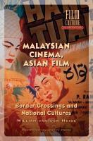 Malaysian Cinema  Asian Film PDF