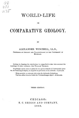 World life  Or  Comparative Geology PDF