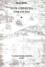 Luis Cernuda-a Study of the Poetry