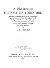 Picturesque history of Yorkshire: being an account of the history, topography, antiquities, industries, and modern life of the cities, towns, and villages of the county of York, founded on personal observations made during many journeys through the three ridings, Volume 1
