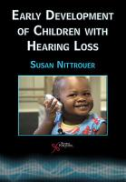 Early Development of Children with Hearing Loss PDF