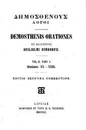 Demosthenis Orationes: Volume 2