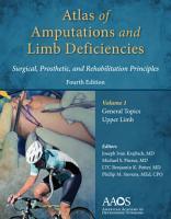Atlas of Amputations   Limb Deficiencies  4th edition PDF
