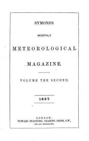 The Meteorological Magazine