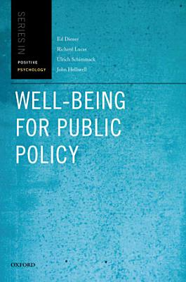 Well being for Public Policy