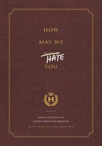 How May We Hate You  Book