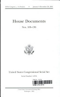 United States Congressional Serial Set  Serial No  14716  House Documents Nos  109 136 PDF