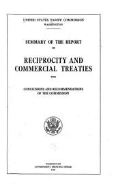Summary of the Report on Reciprocity and Commercial Treaties with Conclusions and Recommendations of the Commission