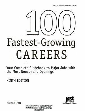 100 Fastest Growing Careers PDF