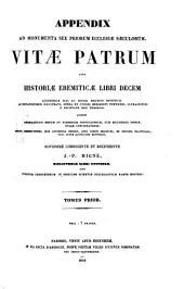Patrologiae latina cursus completus ... series prima: Volume 73
