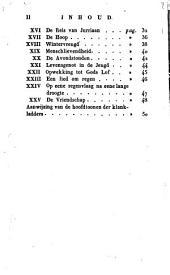De muzikale vriend der jeugd, of Bevallige zangstukjes voor het opkomend geslacht: ook tot schoolgebruik. 2e stukje, Volume 1