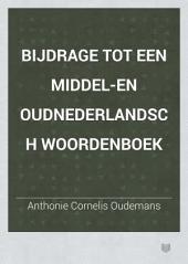 Bijdrage tot een Middel-en Oudnederlandsch woordenboek: Volume 6