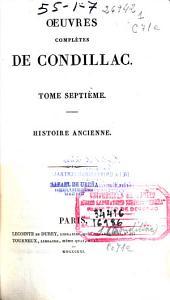 Oeuvres complètes de Condillac: (1821. 598 p.)
