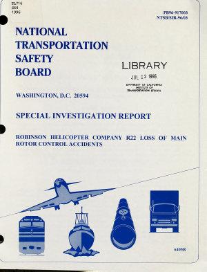 Special Investigation Report