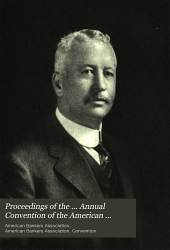 Proceedings of the ... Annual Convention of the American Bankers' Association: Volume 41; Volume 1915