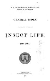 Insect Life: Volumes 1-7