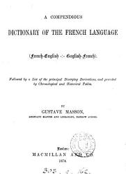 A Compendious Dictionary Of The French Language Book PDF
