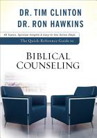 The Quick Reference Guide to Biblical Counseling PDF