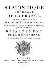 Departement de la Haute-Vienne