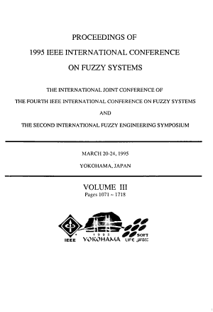 Proceedings of 1995 IEEE International Conference on Fuzzy Systems PDF