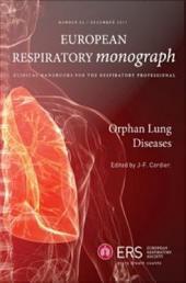 Orphan Lung Diseases: European Respiratory Monograph