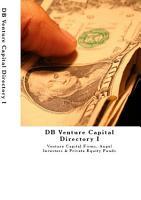 DB Venture Capital Directory 2018  2019 PDF
