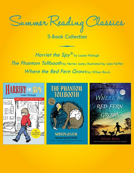 Download Summer Reading Classics Three Book Collection Book