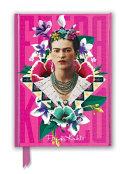 Frida Kahlo Pink Foiled Notebook